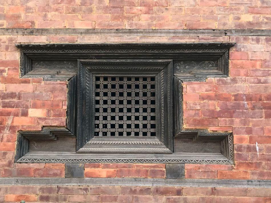 Window To The World Window Brick Wall Architecture Outdoors EyeEm Best Shots - Architecture