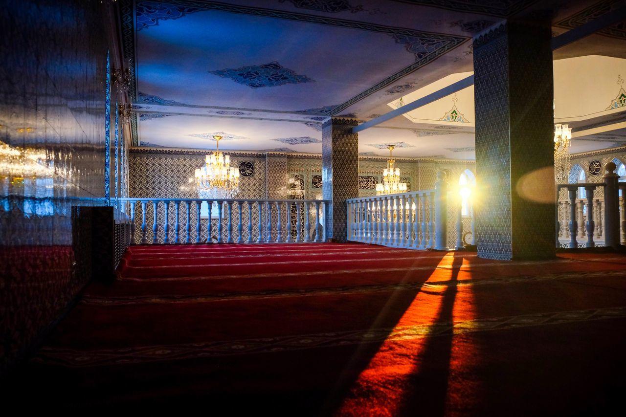 Islam mosque Illuminated Architecture Built Structure Lighting Equipment Transportation Night No People Indoors  Sky Fujifilmru Fujifilm Fujifilm_xseries