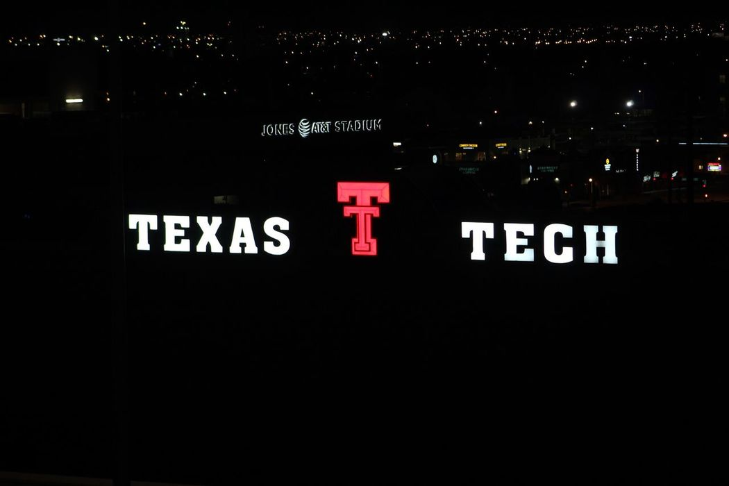 Texas Lights Texas Tech University Lubbock West Texas Lone Star Lone Star State Tech Night Nightphotography Football Field First Eyeem Photo 75 -300mm Zoom Focus Canonphotography Canon Rebel T6