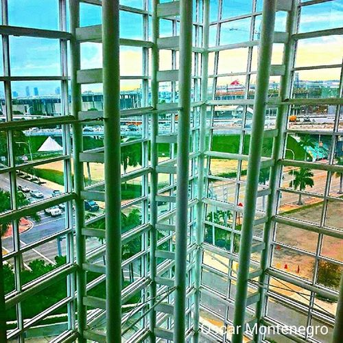 Art is all around us. Miami Arshtcenter . Architecture ARCHITECT eyefordesign colorful designer desig interiordesignstudent interiordesign inspiration Details Colorful outintown backyard view journey art artinstitute beauty Clearsky