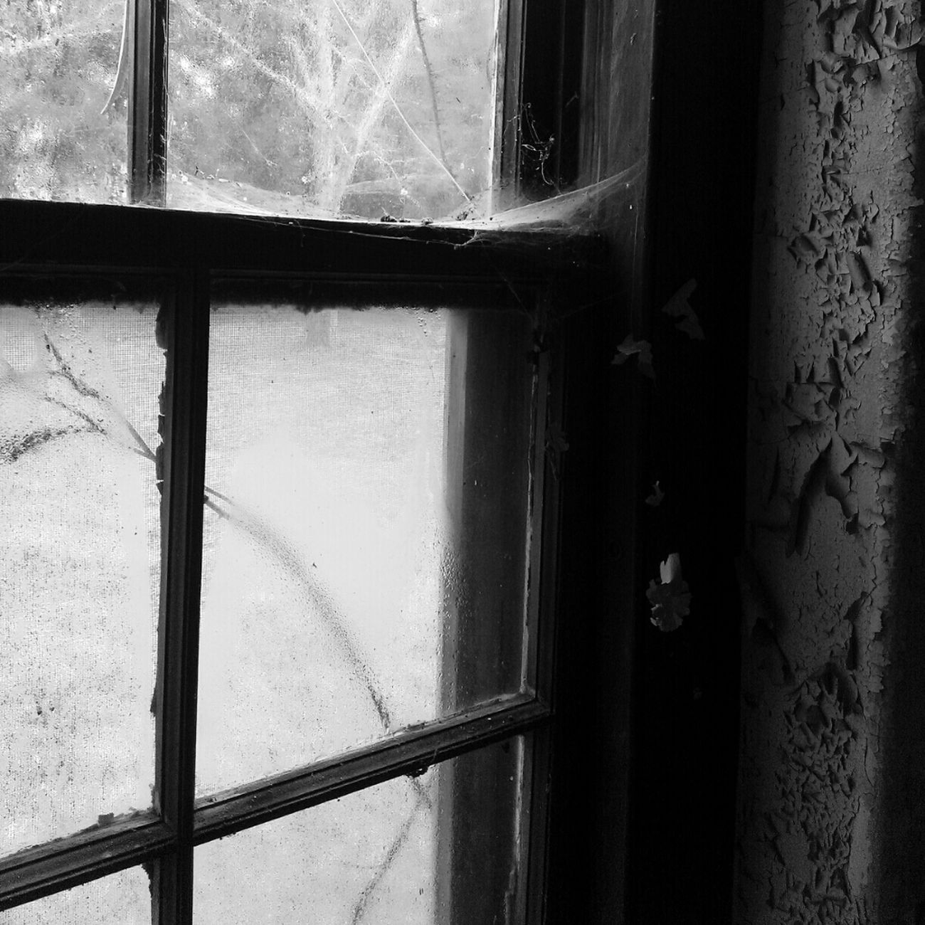 Black And White Urbex Filthyfeeds Grime Window Grimewindow