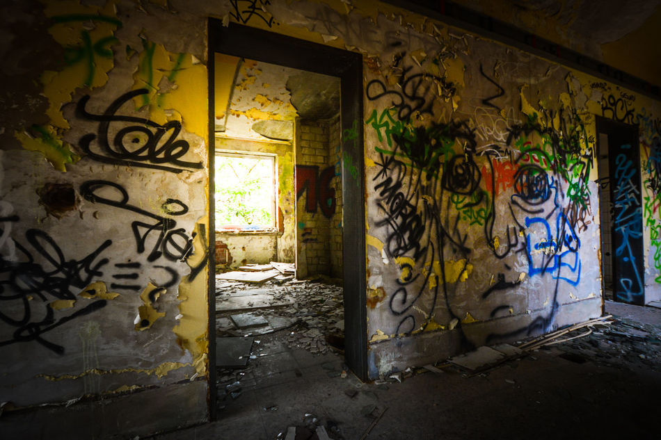NikonD5200 Nikon Secret Places Urbanphotography Urban Walls Graffiti Hitfield Germany Urban Nature Lightroom Abondoned Abondoned Buildings Abondoned Places