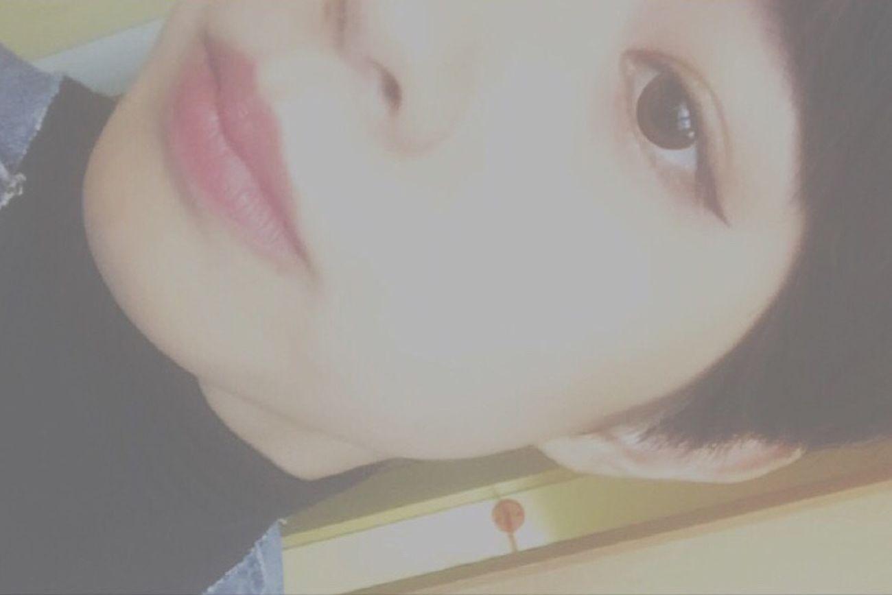 まえがみ✂️💕💕 Style Shorthair Outfit Fashion Me :)  Followme L4l Like4like F4F Cut 前髪 オン眉 EyeEm Best Shots Eyeem Photography Selfie ✌ Selca