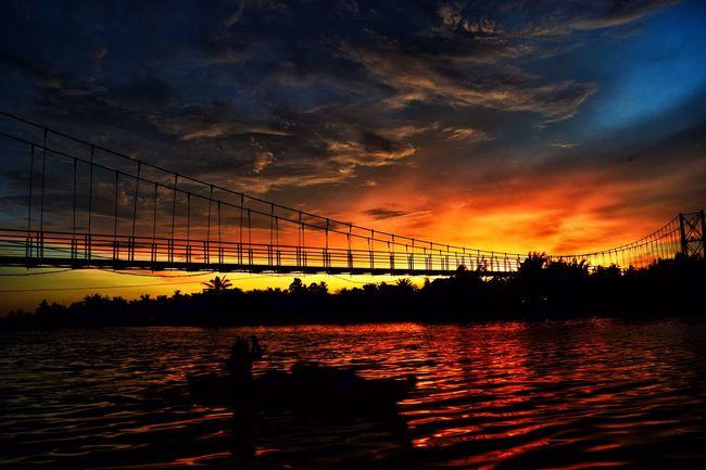 Sunset Sunset_collection Sunset Silhouettes Sunset #sun #clouds #skylovers #sky #nature #beautifulinnature #naturalbeauty #photography #landscape Sunset And Clouds  Sunsetlover Sunset_captures Sunsets Sunsetphotographs
