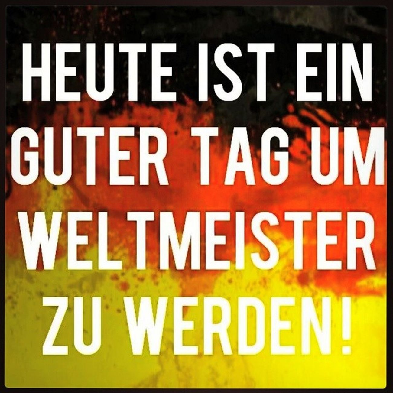Wm2014 WMFinale Gerbra AneurerSeite bereitwienie schwarzrotgold