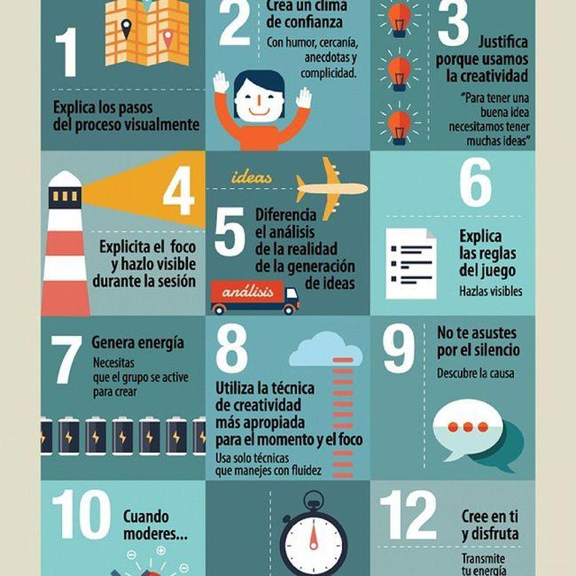 12 claves para tus reuniones creativas Infografía Creatividad http://t.co/rGLOFoWvYi
