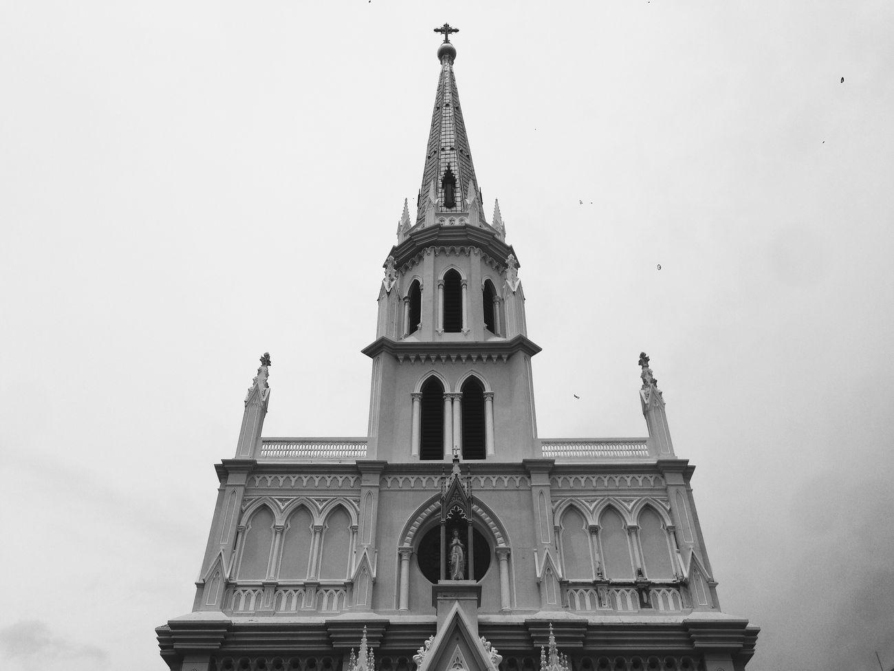 Architecture Building Church Bangkok