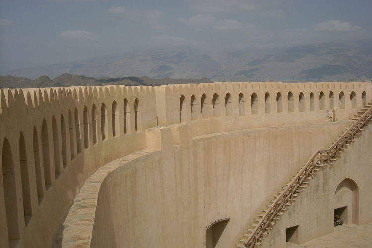 Famous Place History International Landmark Majestic Outdoors Scenics Tourism Travel Destinations Vacations nizwa, fort nizwa, oman Holiday Vacation Sightseeing, No People Architecture Finding New Frontiers