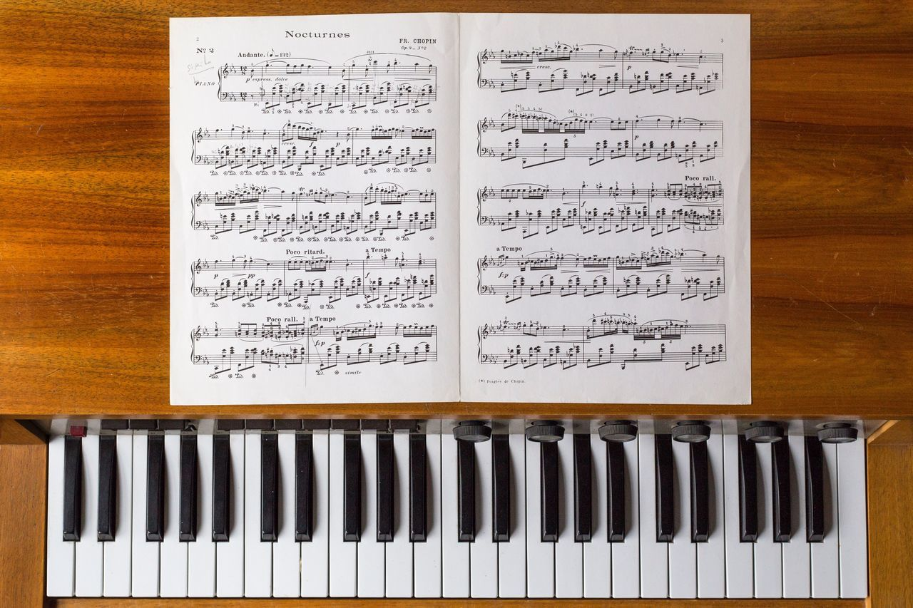 Piano Moments Piano Piano No People Paper Close-up Indoors  Day Partition Music Musical Instrument Zen