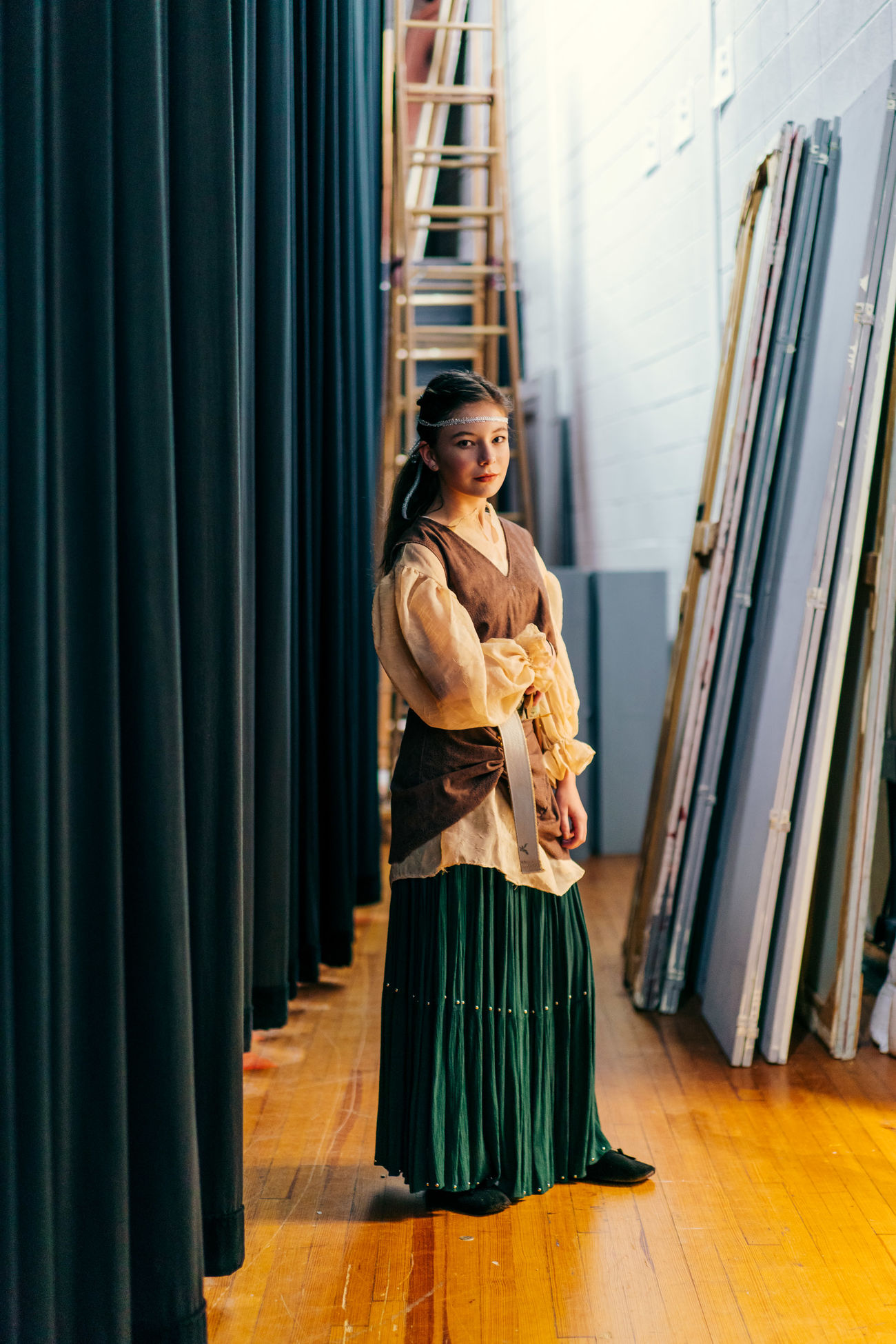 Middle school theater - behind the scenes The Portraitist - 2017 EyeEm Awards