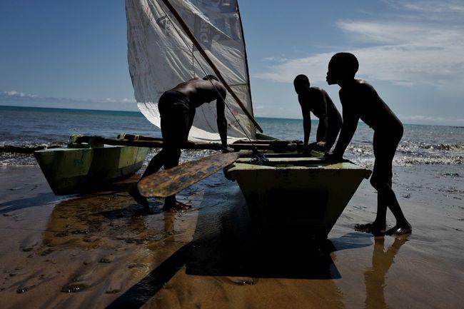 Africa Atlantic Beach Boat Fisherman Fishermen Island Island Life Island Living Ocean Outdoors Sao Tome Travel Travelling