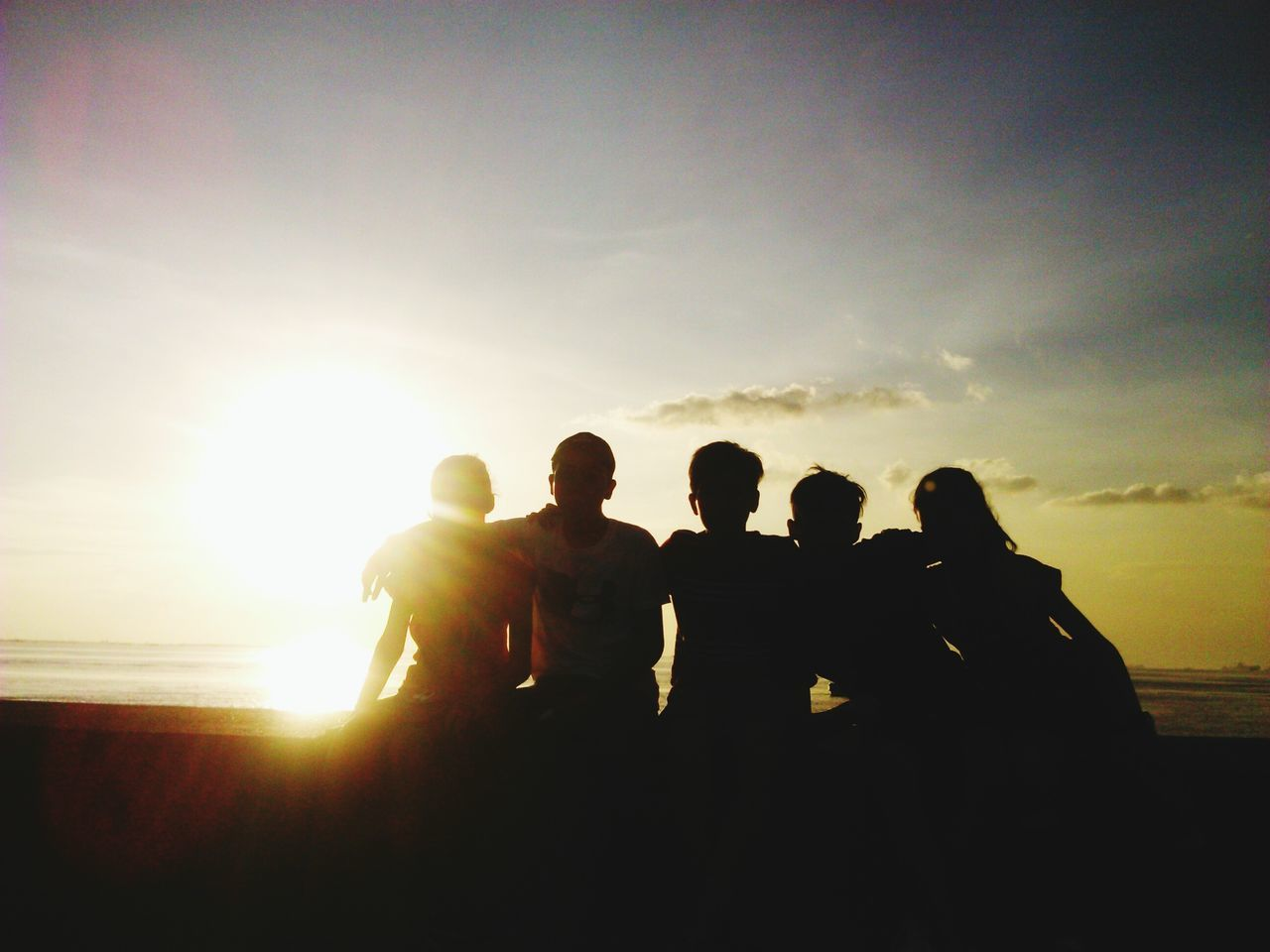Sunset Sunset Silhouettes Pricelessmoments  Happiness ♡ Eyeem Philippines Family❤