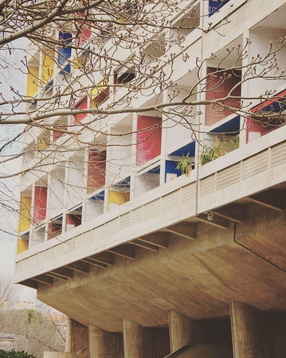 Minimalist Architecture Cite radieuse, Le Corbusier, Marseille #instapic #instadaily #instagram #instaday #architecture #architecturelovers #architecturelovers #patrimoine #marseille #photoshoot #photography #photographer #panasonicgx8 #citeradieuse #lecorbusier