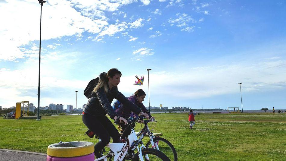 Parque De Los Niños Argentina EyeEm Buenos Aires Peace And Quiet Open Air Grass Bicicleta Bikeride Bikeriding Healthylife