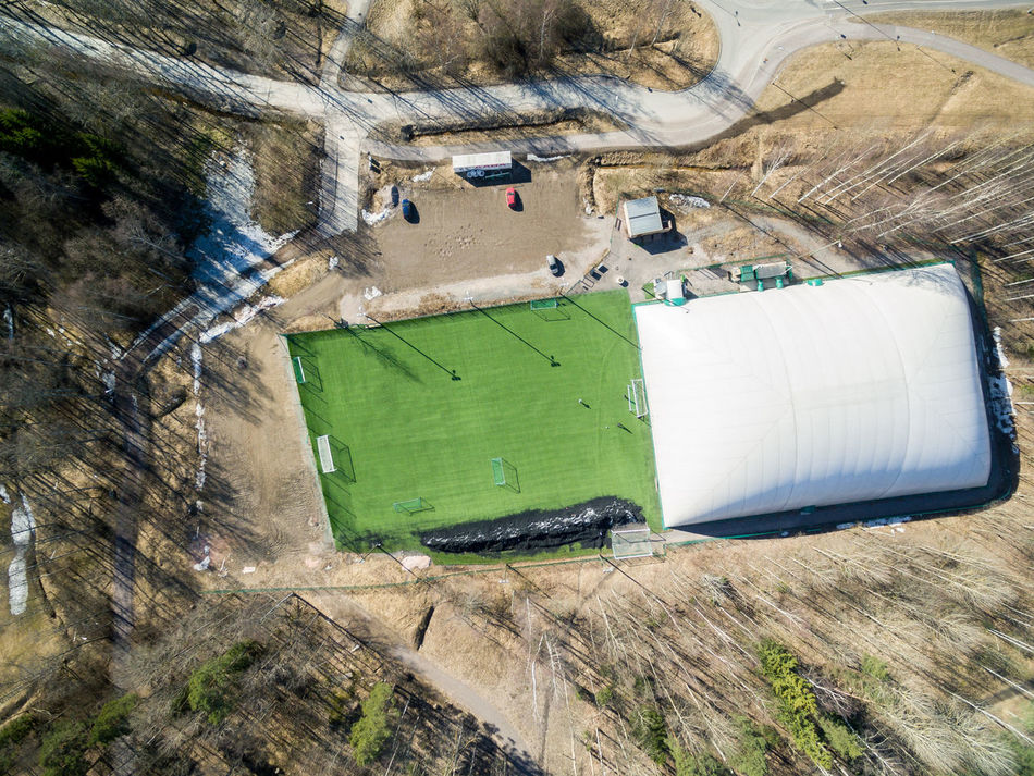 Aerial Aerial View Architecture Beauty In Nature Day Drone  Finland Football Football Field Football Pitch Helsinki Nature Nature No People Outdoors Park Top Top Perspective Top View
