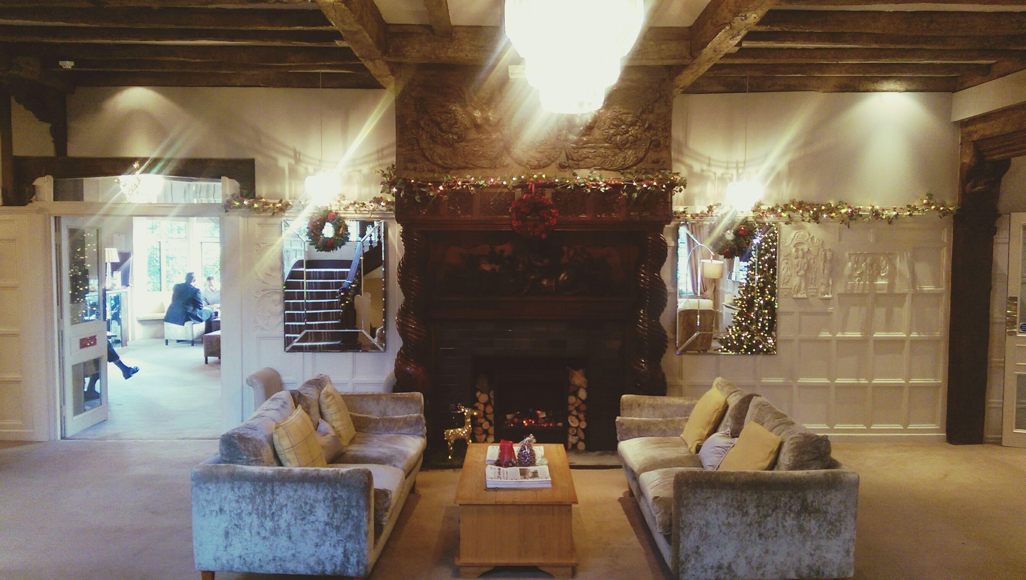 Festive season at Laura Ashley the Manor Lauraashleythemanor Christmastime Xmas Lauraashley Lauraashleyuk Hotel Elstree London
