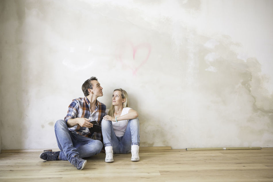 Beautiful stock photos of herz, two people, casual clothing, young adult, togetherness