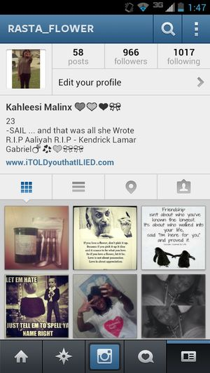 FOLLOW MY INSTAGRAM I FOLLOW BACK!!!