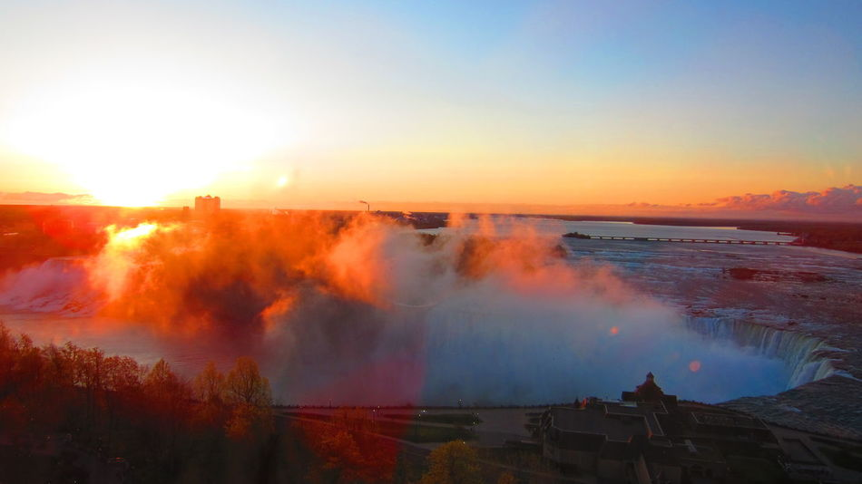 Beautiful stock photos of niagara falls, Beauty In Nature, Blurred Motion, Environment, Famous Place
