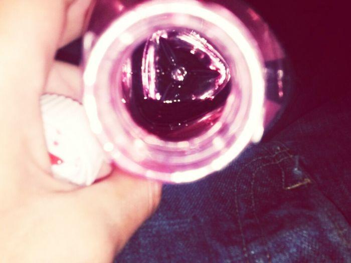 Empty bottle of lean