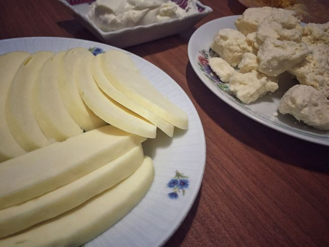 Cheese Food Gravyer Kars Turkey Foods Table Plate Eat Breakfast Nobody