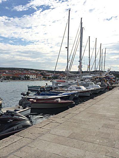 Back Croatia Sea Blue sky