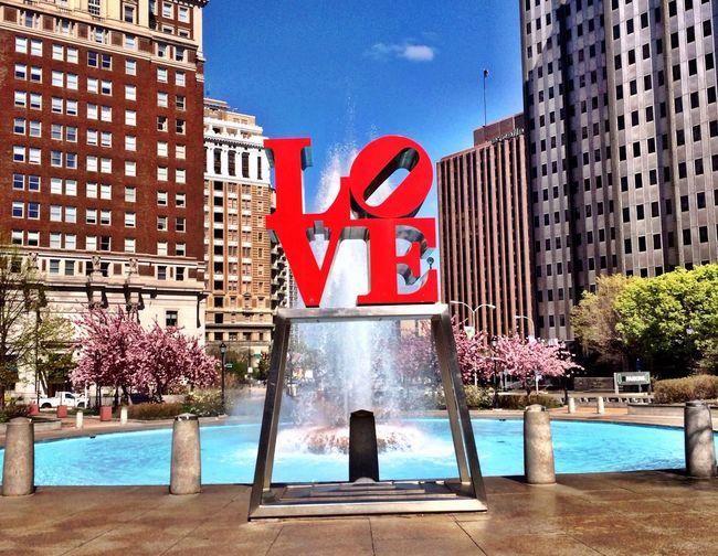 Love Park Philadelphia Philly Love