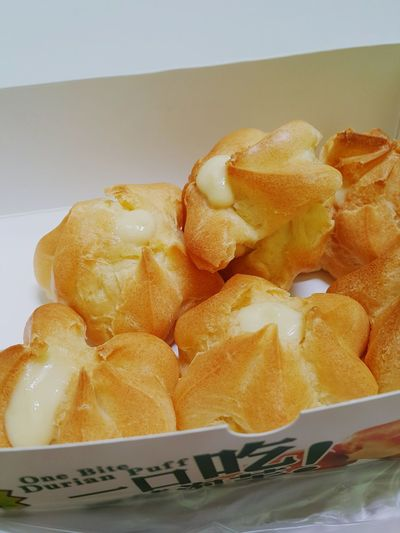 Dessert Of The Day Durian Puffs Sweettooth Oh My Sweet Day
