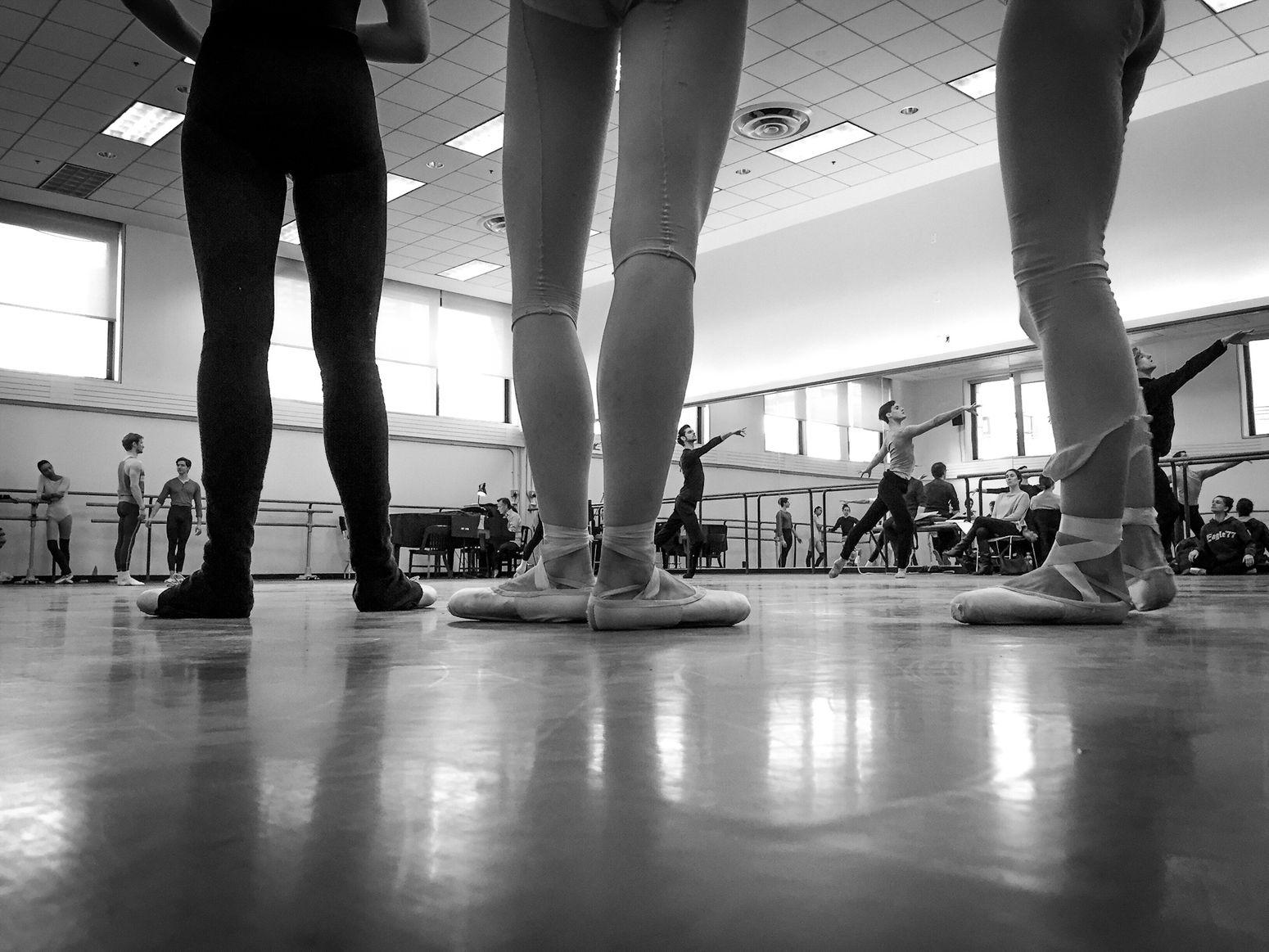 Legs NewYorkCityBallet Ballerina Rehearsing Blackandwhite Photography Monochrome Legs Dance