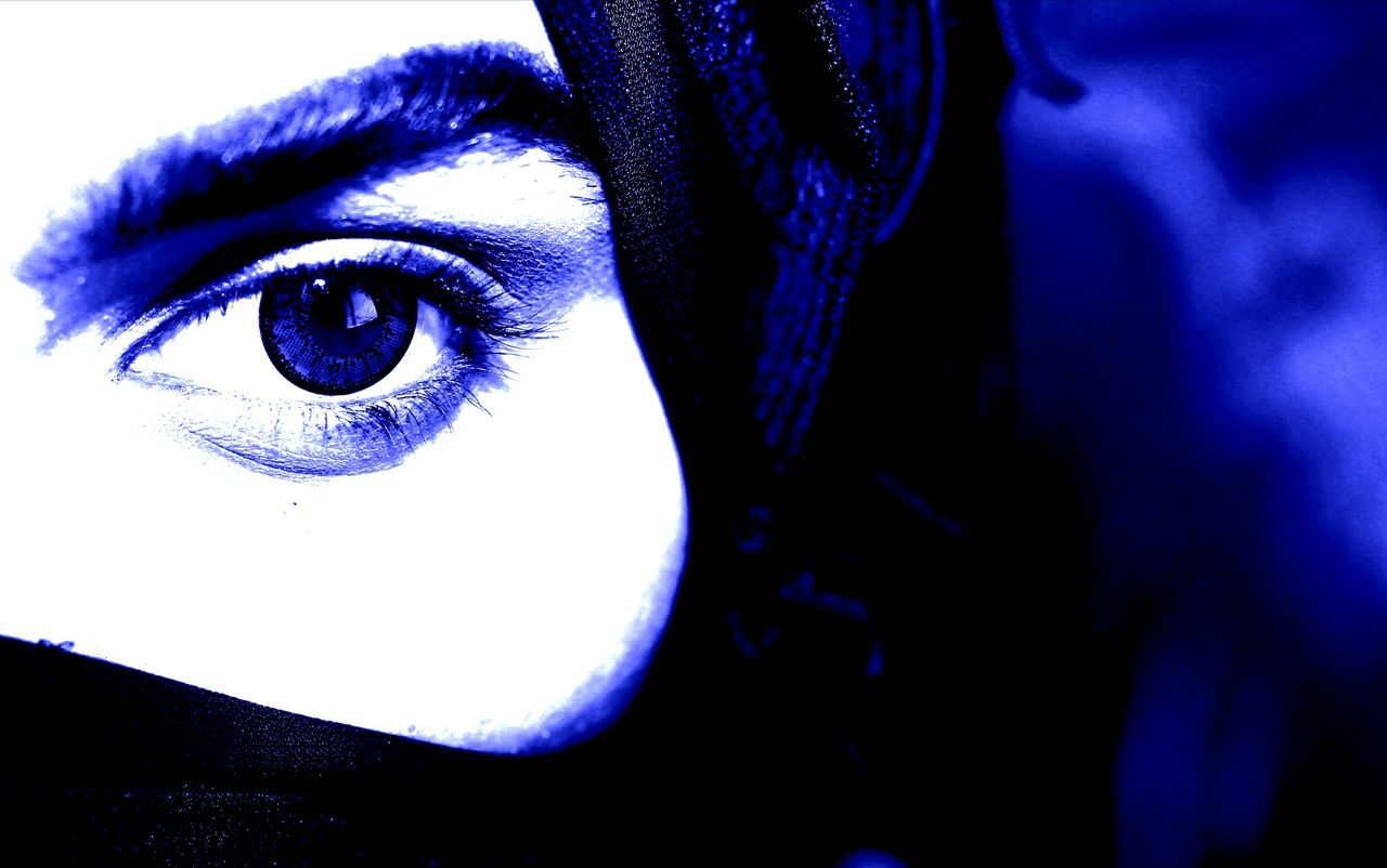 Human Eye Close-up Human Body Part Blue Portrait Looking At Camera Human Face Beautiful Woman Beauty Studio Shot Indoors  Only Women People One Woman Only Eyelash Adult One Person Adults Only Young Adult Eyesight Unique Perspectives Capture The Moment Atmospheric Mood Amazing Pakistan Love BYOPaper! Visual Feast The Portraitist - 2017 EyeEm Awards EyeEmNewHere The Photojournalist - 2017 EyeEm Awards The Street Photographer - 2017 EyeEm Awards