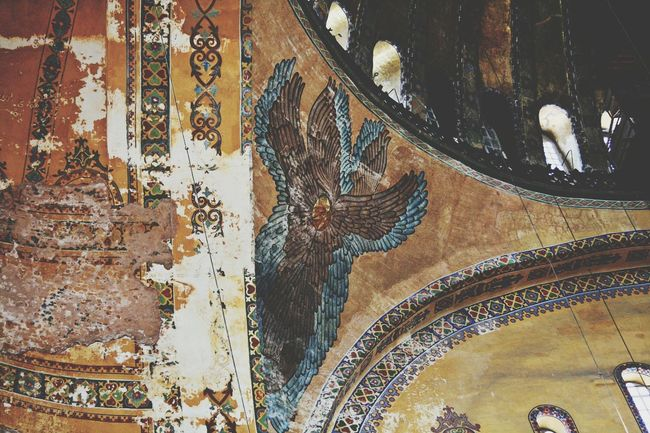 Details from the indoor area of Agia Sofia (Constantinople, Turkey) Agia Sofia Constantinople Monument Sightseeing Landmark Masterpiece Orthodoxy Byzantium Byzantine Empire Architecture Photography Travel Travelphotography Emotions Architecturephotography EyeEm Gallery Eye4photography  EyeEm Best Shots