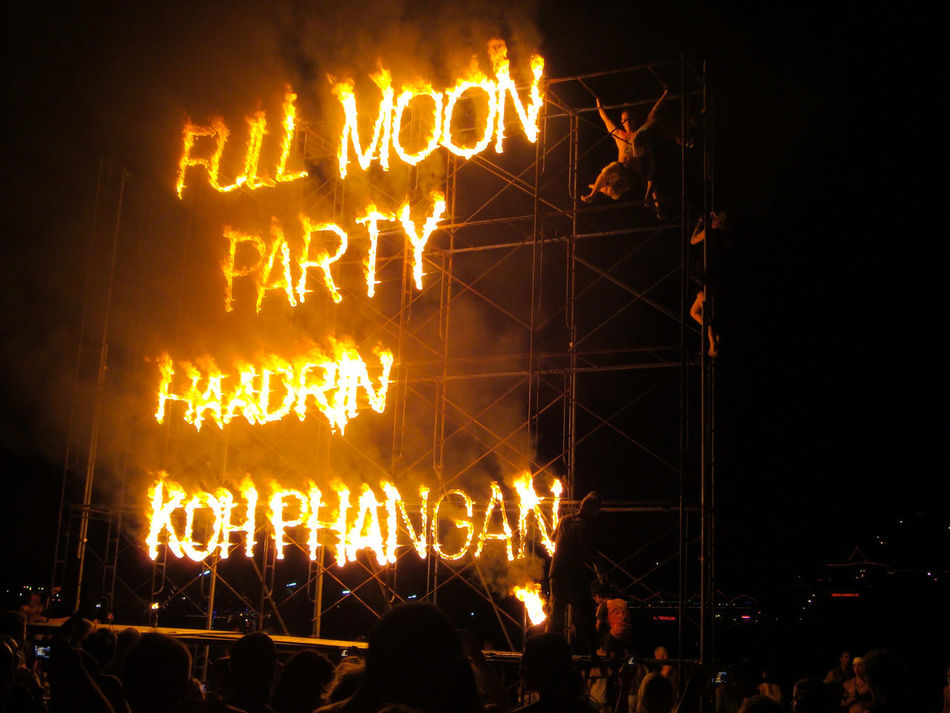 Full Moon 🌕 Fullmoon Full Moon Party Full Moon Party In Koh Phangan Koh Phangan Illuminated Crowd Night Text Outdoors People Beach Beach Party Travel Travel Destinations Thailand EyeEmNewHere EyeEmNewHere EyeEmNewHere Best EyeEm Shot