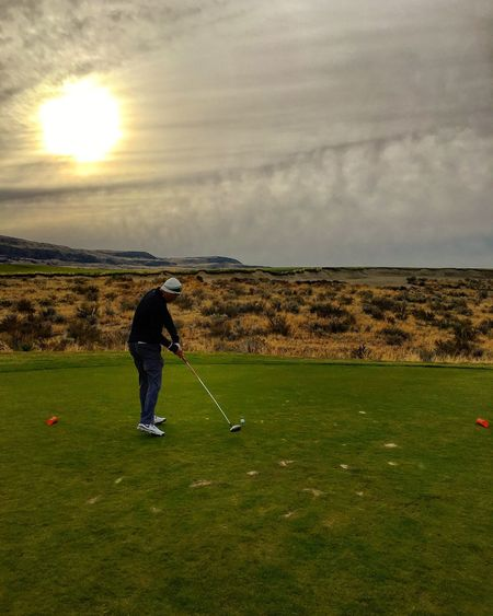Golfing Golf PNW Washington Pacific Northwest  Lake Chelan First Eyeem Photo