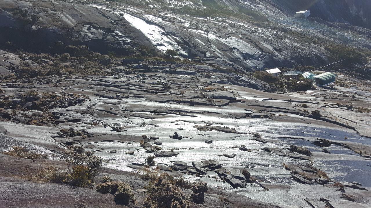 Mountain Kinabalu Geography Landscape Texture
