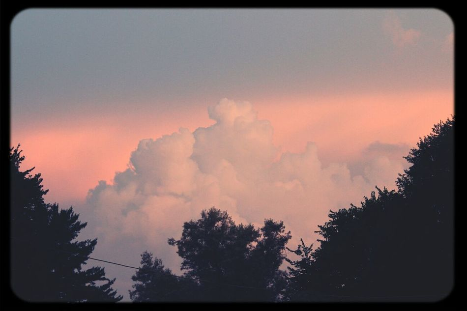 Clouds Canont3i Sunset And Clouds