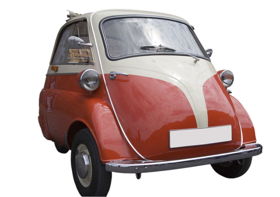 BMW Isetta - Vintage Tricar - German Car Bmw BMW Isetta Car Classic Classic Car Compact German Germany Isetta Isolated Isolated On White Land Vehicle No People Nostalgia Old Old-fashioned Oldtimer Red Small Subcompact Transportation Tricar Vintage Vintage Cars White Background