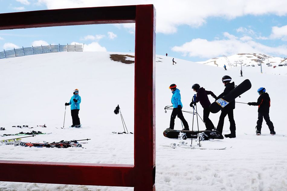 Livigno, Italy 2017 Lifestyles Travel Photography Ski Livigno Alps Real People Snow Winter Sport Sky Mountain Beauty In Nature Sport Snowboard Street Photography Eyeem Images Street Photographer Travel Winter Holydays