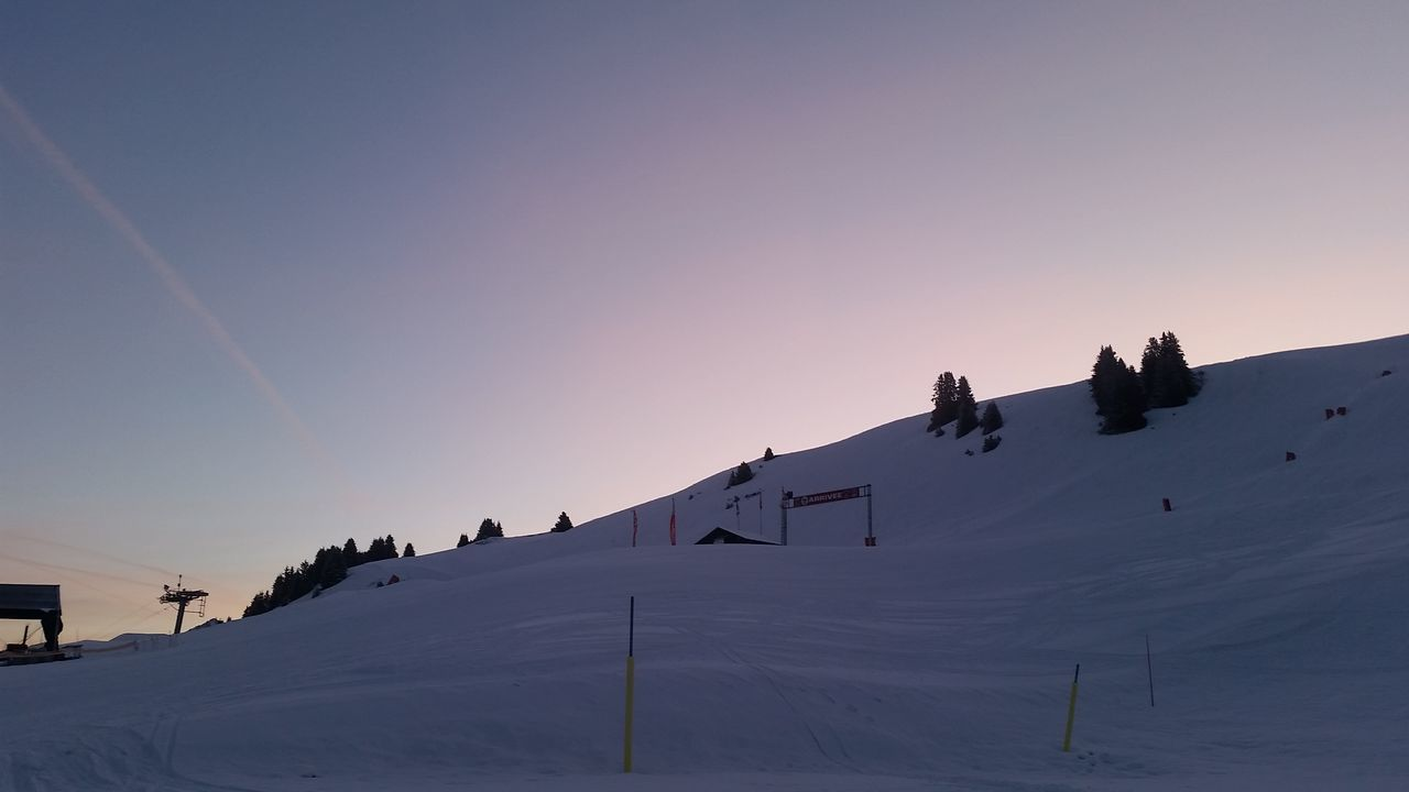 Have a nice day!!! Beautiful Day Peace And Quiet Surlespistes Morning Sky Morning Light Enjoying The View PhonePhotography Snowboarding Lastdayontheslopes NoEditNoFilter