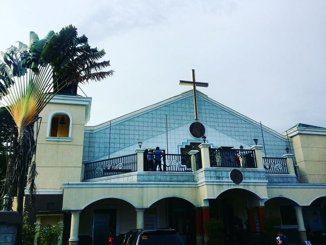 Divine Mercy Parish, Floridablanca, Philippines. Spirituality Travel Destinations Place Of Worship First Eyeem Photo Religion Jesus God Architecture Culture History Parish Church Catholic Church Pilgrimage Church Pampanga, Philippines Strong