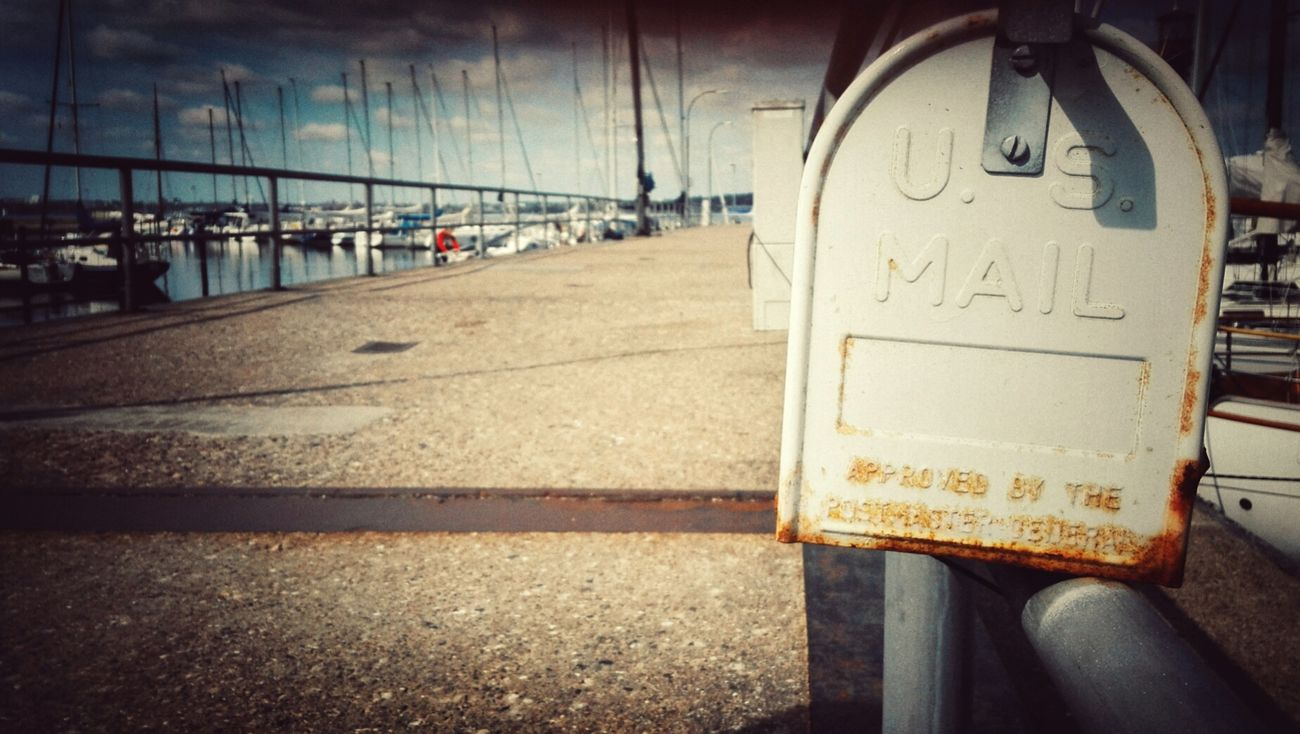 Moinmoin Harbour View Harbour Life Retro Style Baltic Sea Sea Harbor No People Tranquil Scene Mailboxes Mail Mailboxes In The Country Networking