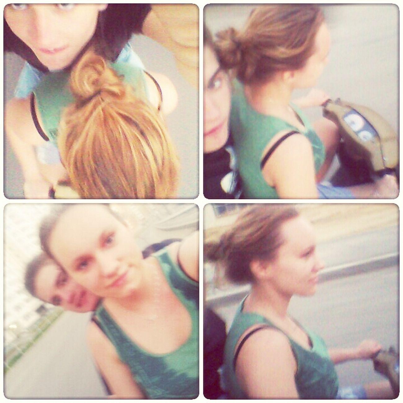 решила покататься))))