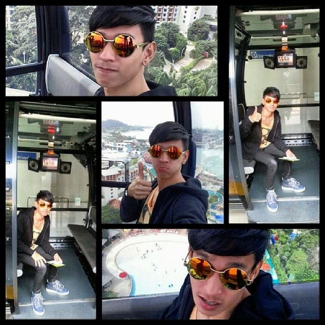 The joy ride across the highest southernmost peak of continental Asia. Cablecar