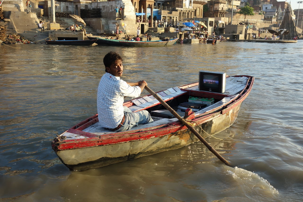 India Outdoor Outdoor Photography ASIA Varanasi, India Ganges, Indian Lifestyle And Culture, Bathing In The Ganges,