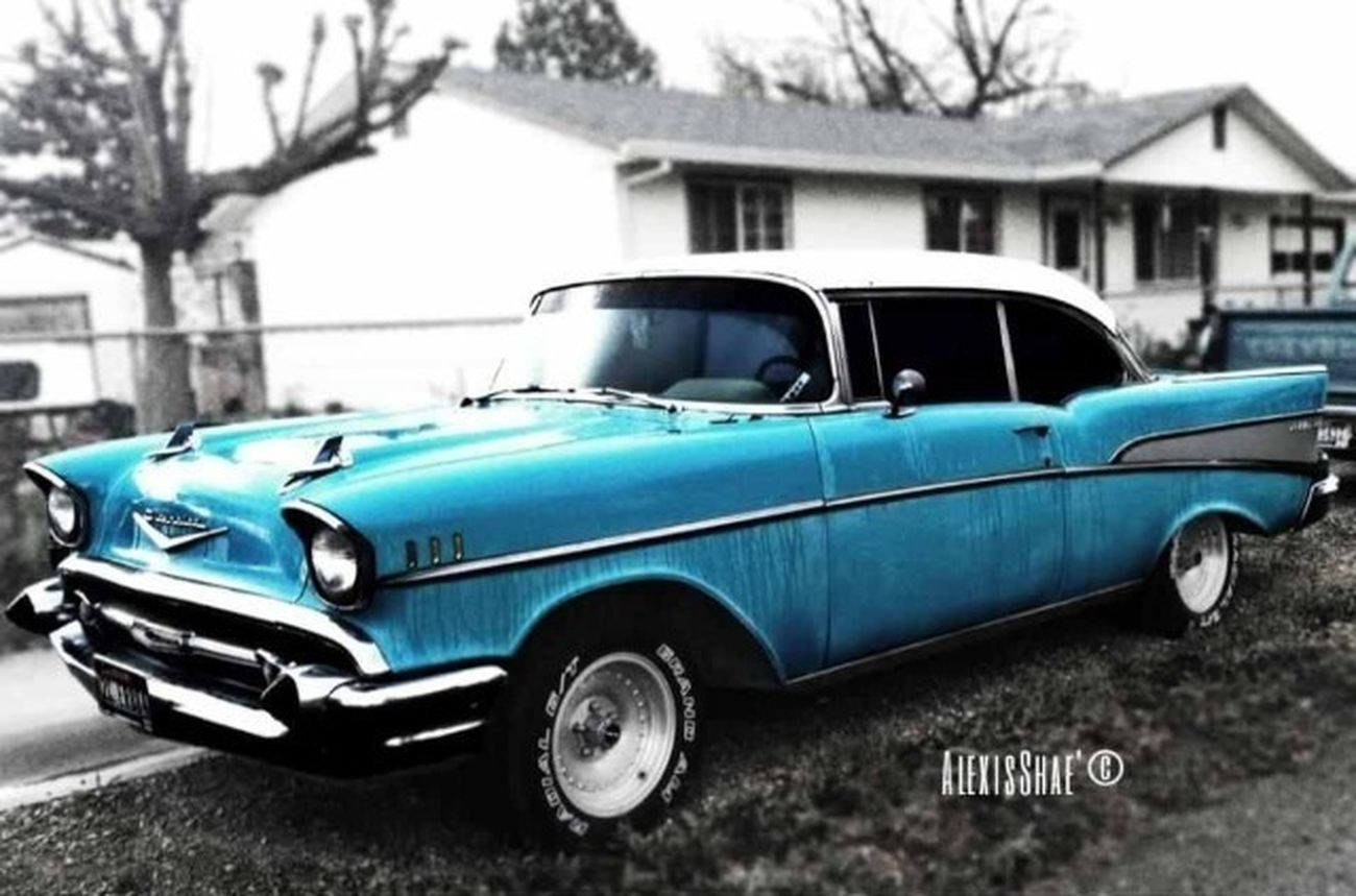 Beautiful Color Splash Vintage Vehicles Fun.