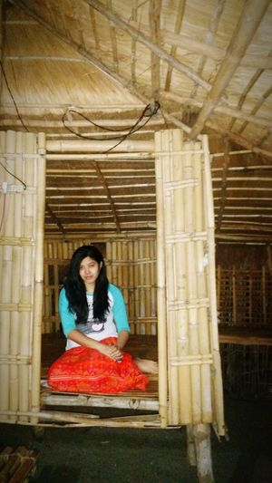Home Is Where The Art Is Native House Province Life Bamboo House Wake Up And Smile Sleep Or Wake Up Long Black Hair Scary Lady At Night Killer Look Zambales, Philippines