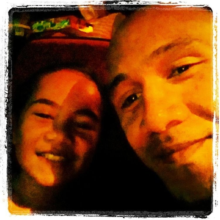 Me N The princess watching NOAH...