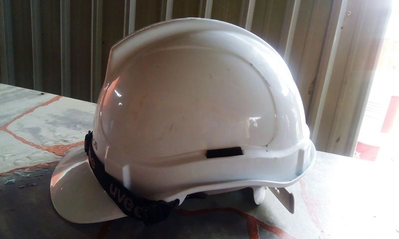Indoors  Headwear Close-up Safety First! Safety Helmet Reflections White Color