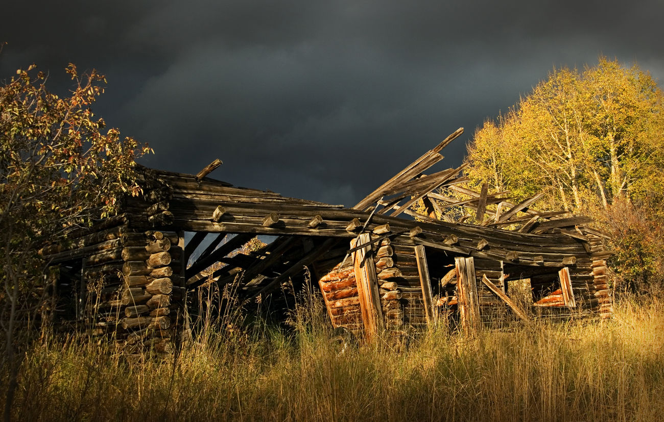 Old House Barnstalker Colorado Cabin In The Woods United States Autumn Colors Nature Eye4photography  Canon Bestoftheday I Hope My Pictures Touch Your Hart EyeEm Best Shots EyeEm Nature Lover Fine Art Junkart Barns Houses Cabins  Houses I Love Pioneer Town Storm Approaching Stormy Weather Stormy Sky Fine Art Photography