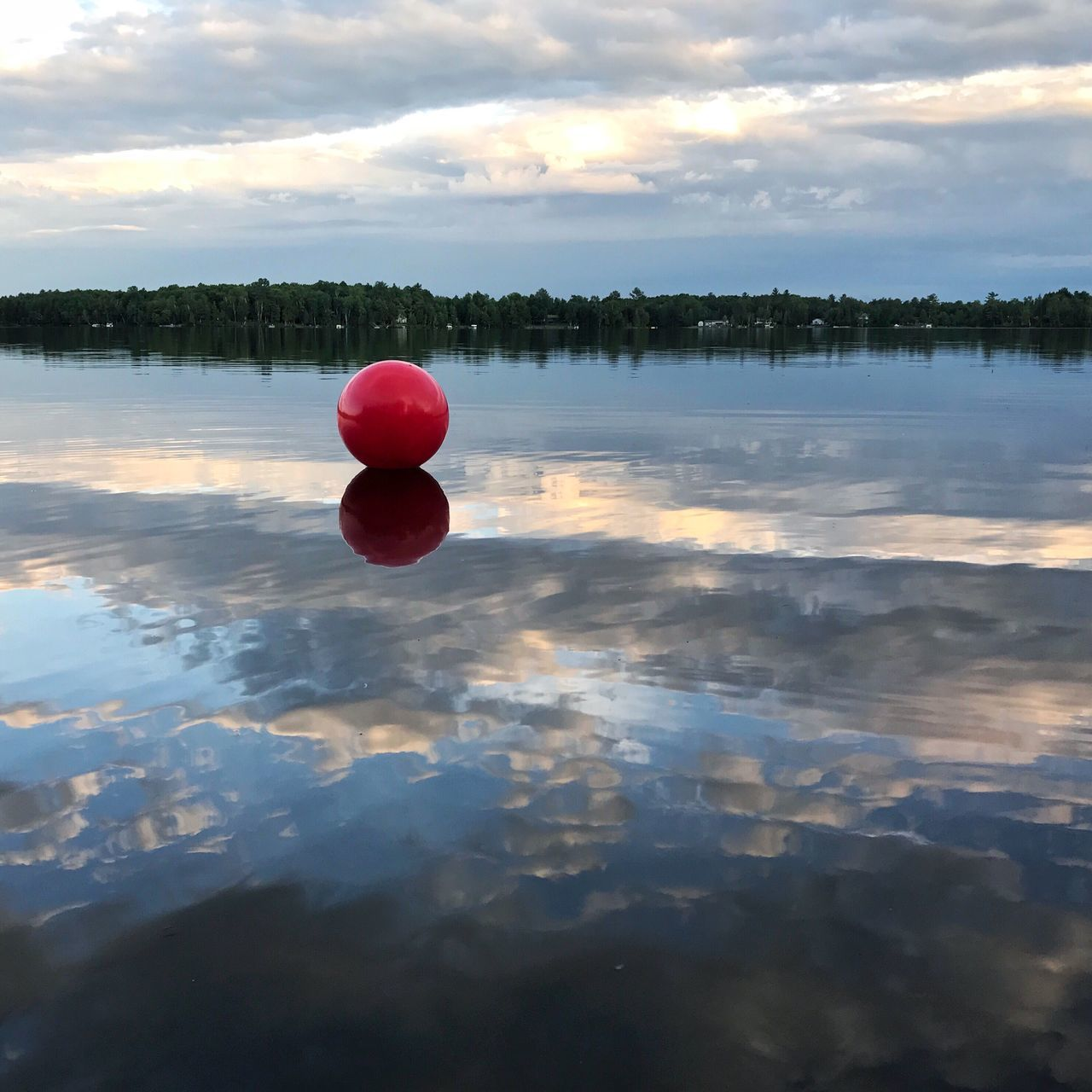 Runaway ball Outdoors Iphonography Reflection Water Lake Red Cloud - Sky Beauty In Nature Iphoneonly