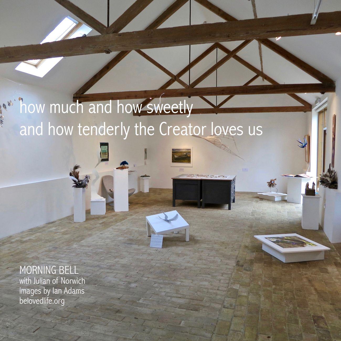 no16 in series Julian of Norwich - a revelation of love @BurningBushBarn Stillness Prayer Contemplation Julian Of Norwich Artspaces Artspace Love